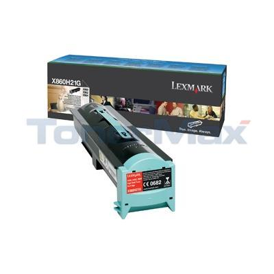 LEXMARK X860E TONER CARTRIDGE HY